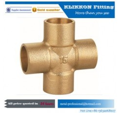 "1/4""NPT Male And Female Brass Fitting"