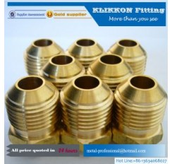 3/4 JIC Male/Male Brass Hose Fittings