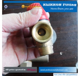 Brass Pex Fitting for Injection Mold Cooling System
