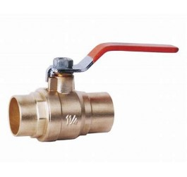 High Quality Dzr Material Brass Ball Valve With Long Handle 3/4""