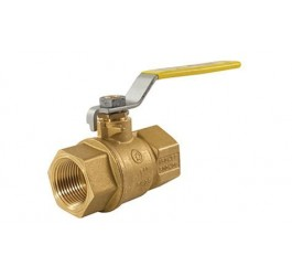 CSA Hose Connection Mini Brass Ball Gas Valve with Compression