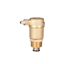 "Green valve 3/8"" Brass threaded automatic gas safety exhaust valve"