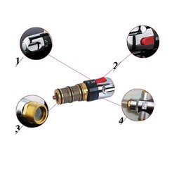 Hot brass expansion temperature controlthermostatic valve