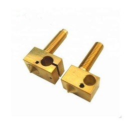 Large cnc machining l precision parts knurled brass nuts