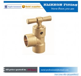 Custom precision CNC machining turning brass tube fitting