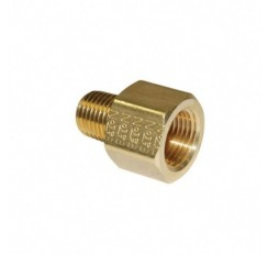 Cnc turning parts custom Brass connector Tee nozzle fitting