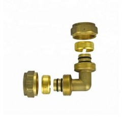 Brass fittings with high quality brass joint