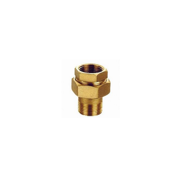 Trade assurance cnc machining brass twin ferrule tube fitting
