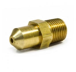 automotive pipe fittings Male Connector 1/4 NPT brass coupling fuel disconnect fitting