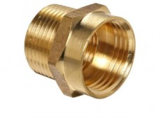 Use brass fittings for better flow and to ensure a secure joint