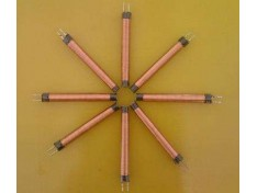 What is the main structure of copper thermal resistance?