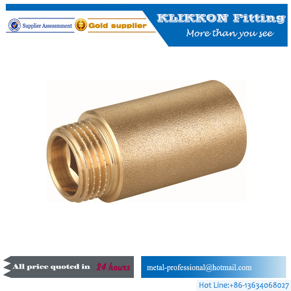 Brass Double Male Threaded Flare Union Fittings for Refrigeration