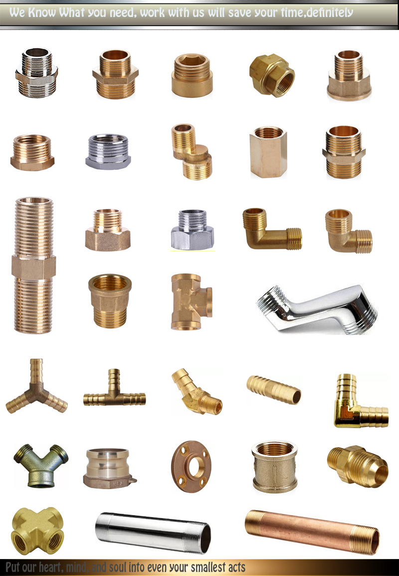 Wholesale copper hydraulic pipe fitting
